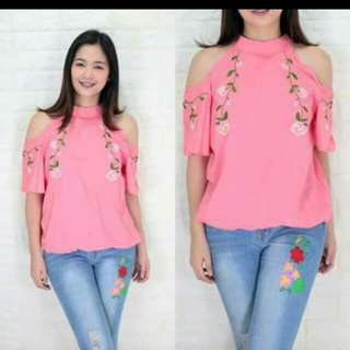 Embroided Bakuna top