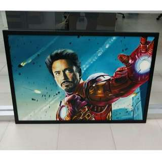 Oil Painting - The Iron Man