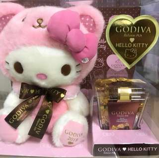 Godiva Hello Kitty chocolate