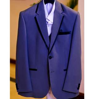 Complete set of Groom's wedding suit