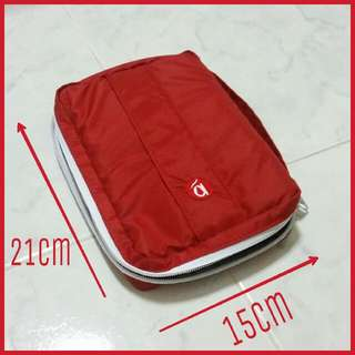 Red Multi Purpose Bag Pouch