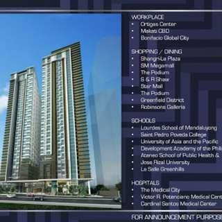 800k Discount High End Condo Rent To Own Condo Pre-selling in Shaw Blvd. Mandaluyong City Near Ortigas Megamall