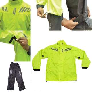 3001*** Givi Raincoat RRS05 NEON YELLOW 🤣🤣Thanks To All My Buyer Support 👌👌