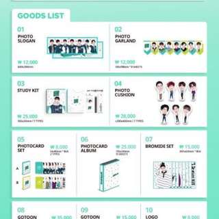GOT7 - GOT7 LOVE I GOT7 4th Fan Meeting Merchandise