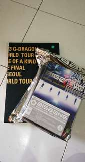 WTS G DRAGON BIGBANG stuff