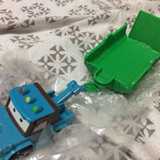 Robocar Poli diecast toy - Spooky with trailer
