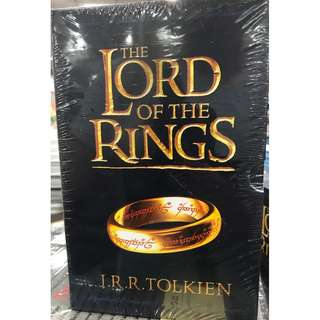 The Lord of the Rings Trilogy Books by J R R Tolkien 7 Book Collection Box Set Slipcase (New)