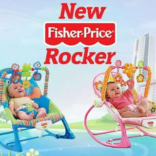 [READYSTOCK!!]FISHER PRICE ROCKER NEW