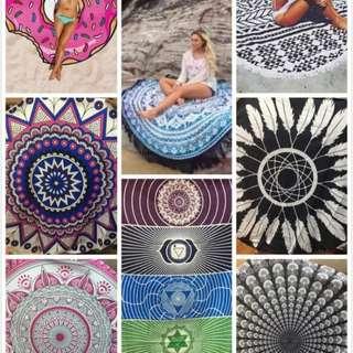 Beach scarfs