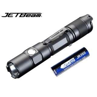 Jetbeam TH15 美國名廠 CREE XHP35 E2 LED 1300 流明 LED Flashlight 戰術 電筒 (跟原廠充電池) - 原裝正貨
