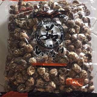 日本种.中国花菇 又称一口菇 1kg