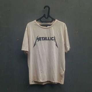 H&M Metallica Top