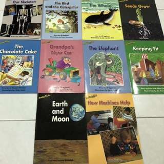 Reading Bee English Story Books (Early 1 & 2)