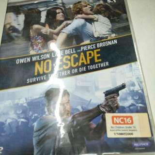 No escape movie dvd