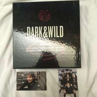 BTS 방탄소년단 DARK & WILD 1ST STUDIO ALBUM