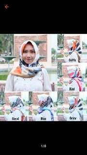 Kerudung fatima scarf