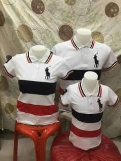 Polo Shirt Family Set