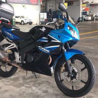 Honda cbr150 (price reduced) coe expiring aug 2018