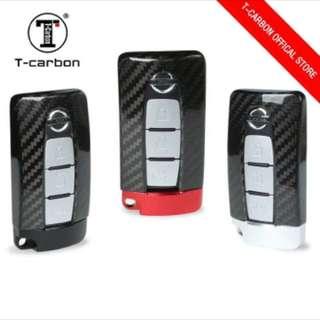 Genuine T-Carbon™ 100% Carbon Fiber Key case / Key Fob / Key protector (Honda / Audi / Mercede Benz / Mazda / BMW / Nissan / Qashqai / Volkswagen / Porsche / GTR / Subaru / Lexus / Land Rover) Ready Stock
