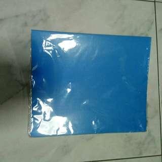 Blue popular file