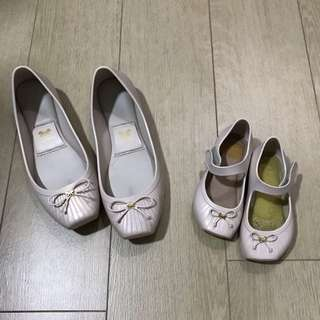 Zaxy mummy and little girl's shoes