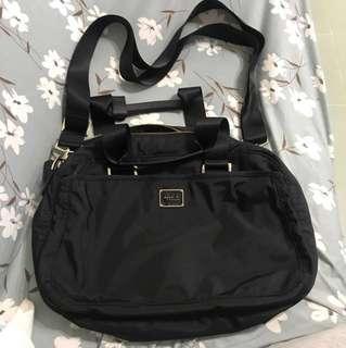 Agnes b 黑色袋(單邊/斜揹)真品