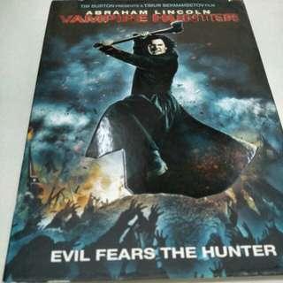 Abraham Lincoln Vampire Hunter movie dvd