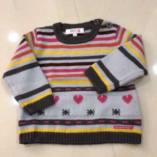 Petits sweater size 18 months