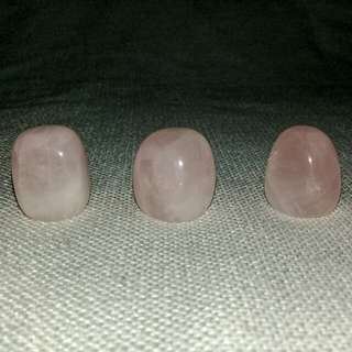 Tumbled Rose Quartz/per piece