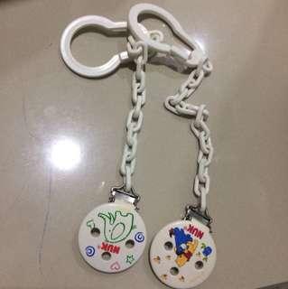 NUK chain 2 pieces