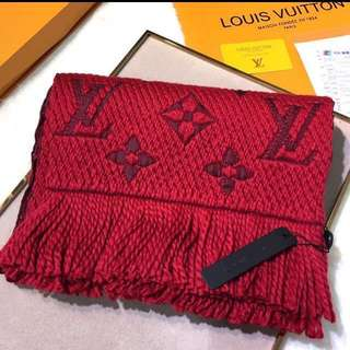 Authenthic LV dual color scarf