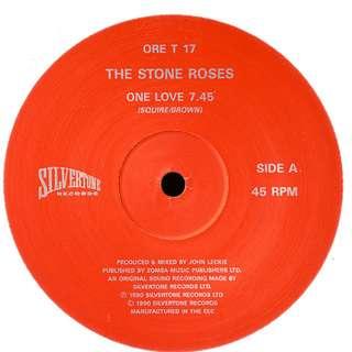 "Vg the stone roses one love single 12"" record ltd vinyl indie uk"