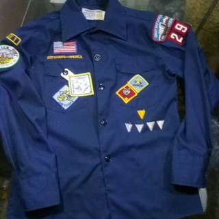Kemeja patch for kids free postage