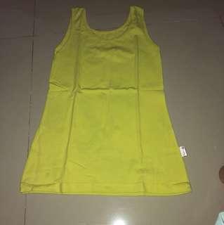 Tshirt dalaman kuning