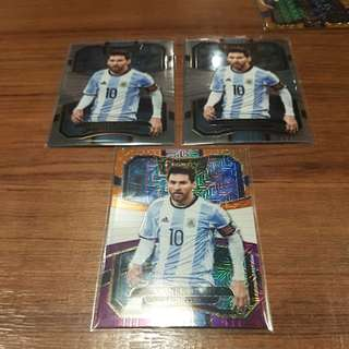 17-18 Panini Select Soccer Lionel Messi card 【Lot 3】