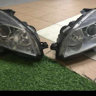 W204 c200 mercedes 2008 headlamp...