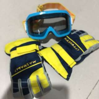 Snow Gloves and Snow Mask