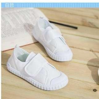 White Shoes canvas