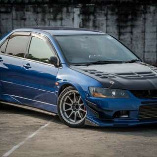 Mitsubishi Evolution7 Thai