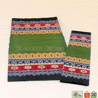 Batik Katun Hijau