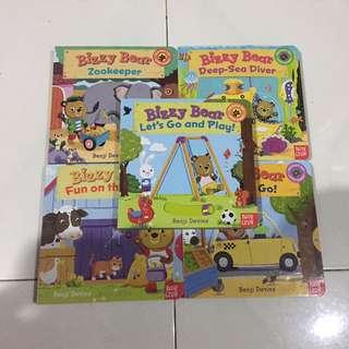 BN Bizzy Bear Board Interactive Book