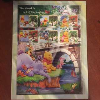 Winnie the Pooh stamp collection3