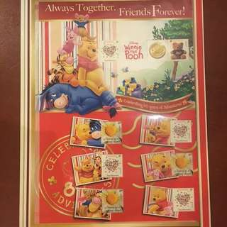 Winnie the Pooh stamp collection1