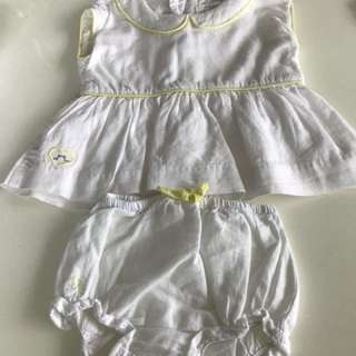Dresses rompers and bodysuit for baby girl newborn -3 month. BULK SALES CLOTHES FOR BABIES
