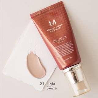 MISSHA Perfect Cover BB Cream no.21 20ml