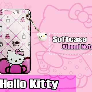 Case New Cute Gantel Hello Kitty Xiaomi Note 5a