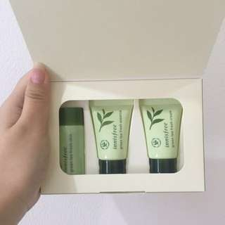 Innisfree green tea trial kit