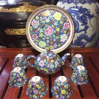 Petite Canton Tea Set 广彩