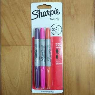 Sharpie Twin Tip 2-in-1 Permanent Marker (Fine+Ultra Fine)
