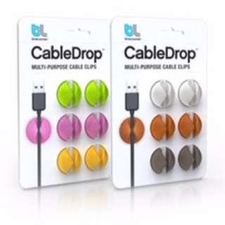 6pcs Multipurpose Cable Clip Organizer